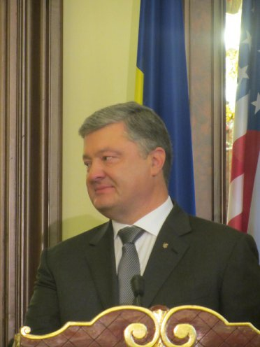 July 9, 2017 - Meeting between the Ukrainian President, Petro Poroshenko and the U.S. Secretary of State Rex Tillerson